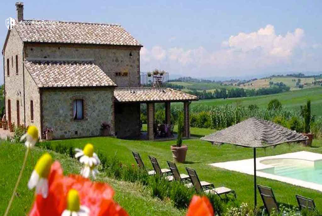 Charming Natural Stone Farmhouse Antonini Partners Real