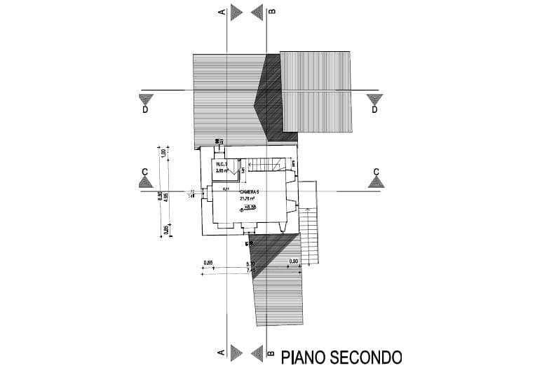 Piano secondo - Prima torre