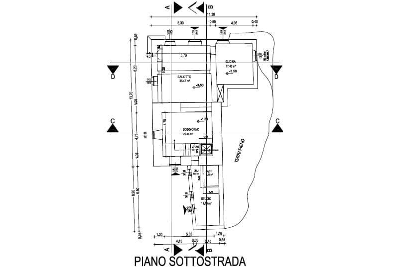 Piano Sottostrada - Prima torre