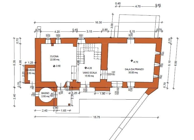 Piano sottostrada - Seconda torre