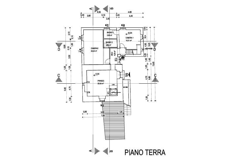 Piano terra - Prima torre
